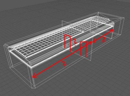S.Y.T. proces vzniku vizualizace výstavního prostoru