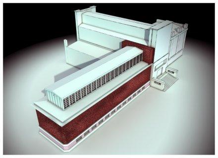 S.Y.T. proces vzniku vizualizace výstavního prostoru II.