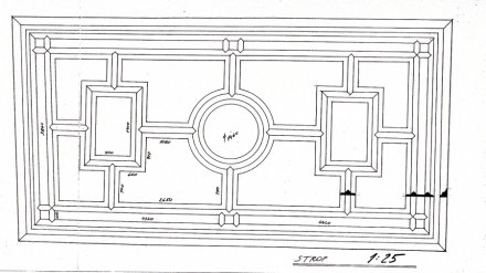 House at the Golden Ring / ceiling plan