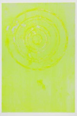 Neon Chartrense Circle